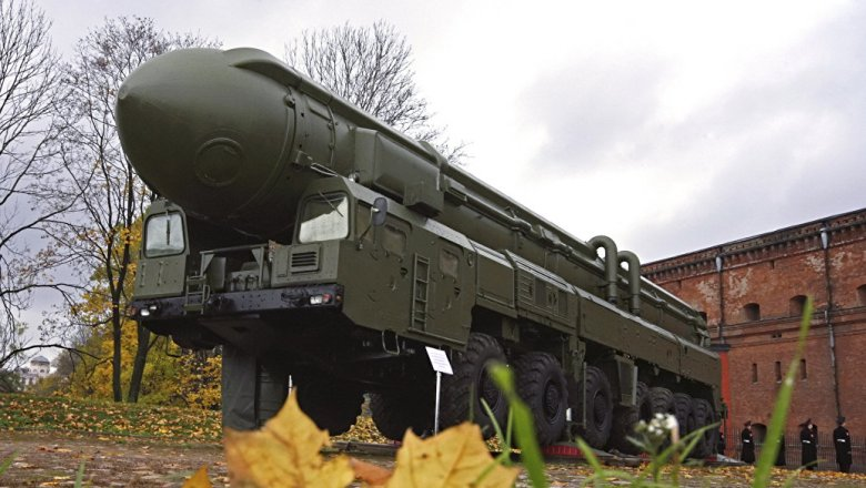 РВСН выполнили с«Капустина Яра» испытательный запуск  МБР «Тополь»