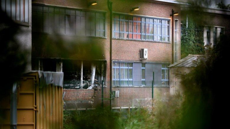 Взорвана бомба уздания института криминологии— Теракт вБрюсселе