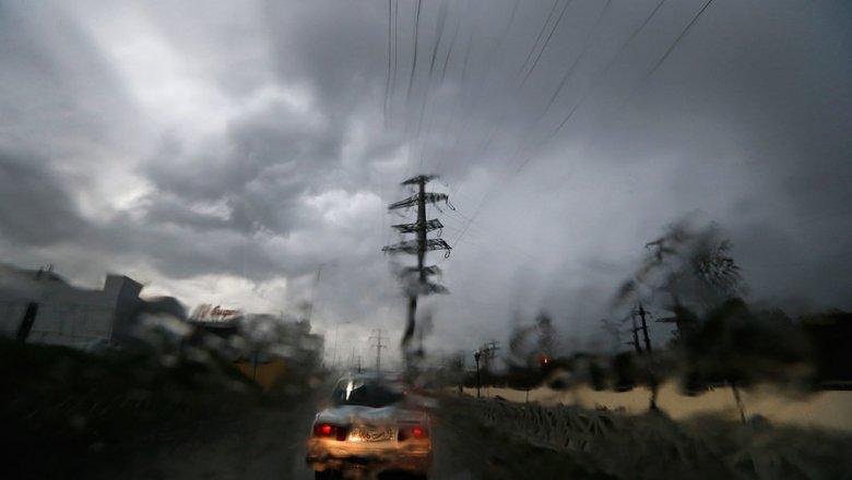 В Ростове после сильного ливня введен режим ЧС