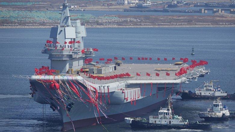 КНР  начал тестирования  первого авианосца собственного производства