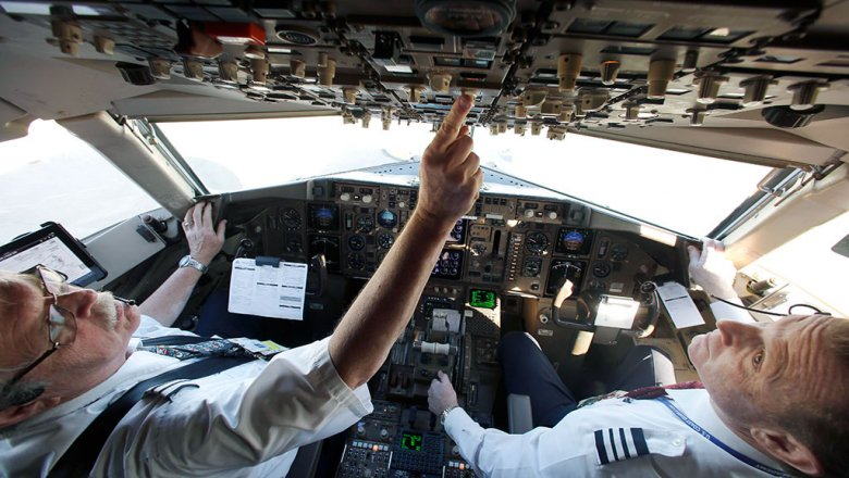 """Пилот Eurowings """"забыл"""" 90 пассажиров в аэропорту Дюссельдорфа"""