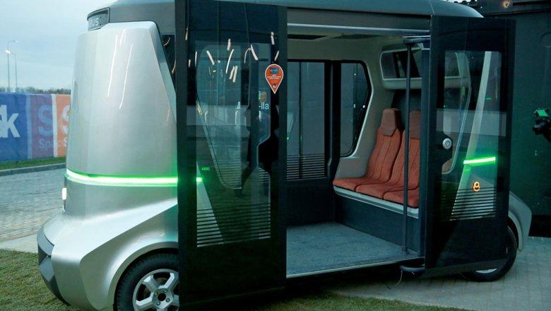 В столице России в 2018-ом году появятся беспилотные автобусы «Матрешка»