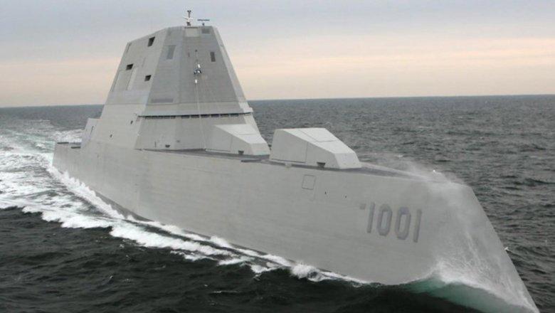США ввели вбоевой состав второй посчету революционный стелс-эсминец