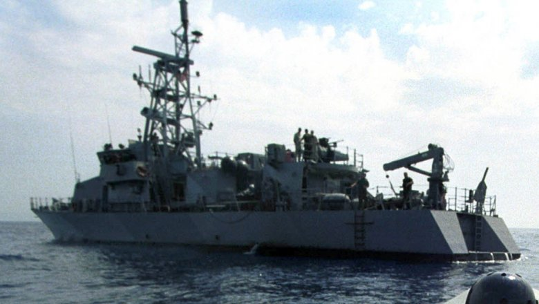 Корабль ВМС США действовал непрофессионально ипровокационно— Иран
