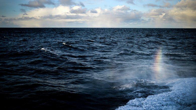 У берегов Камеруна переворотился военный корабль