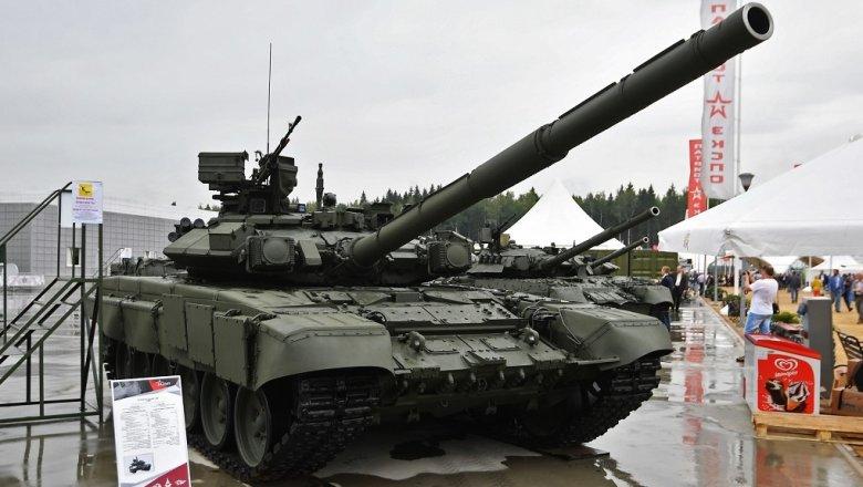 ВИрак прибыла первая партия танков Т-90