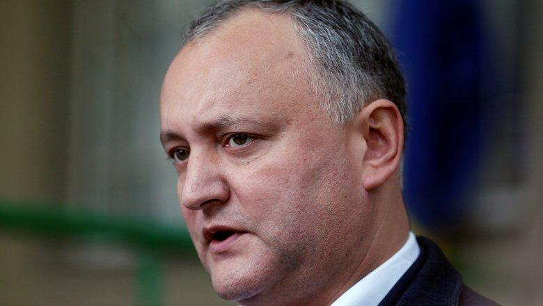 Президентура Республики Молдова: объявление ПРЕЗИДЕНТА РЕСПУБЛИКИ МОЛДОВА ИГОРЯ ДОДОНА