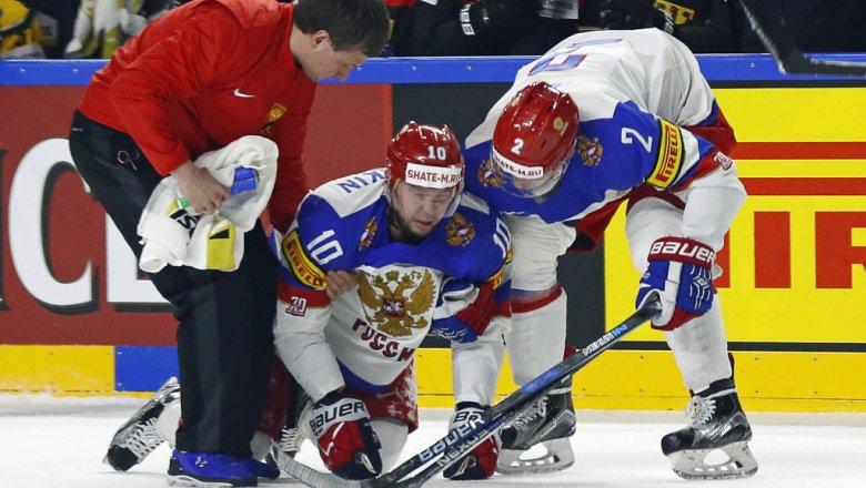 Русские хоккеисты всухую обыграли датчан наЧМ