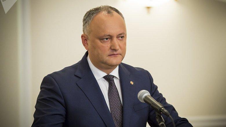 Додон заблокировал инициативу опраздновании 9мая Дня Европы вМолдавии