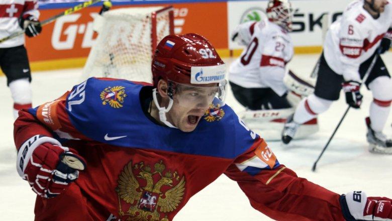 Хоккеисты Кузнецов иОрлов прилетели вГерманию для участия вчемпионате мира
