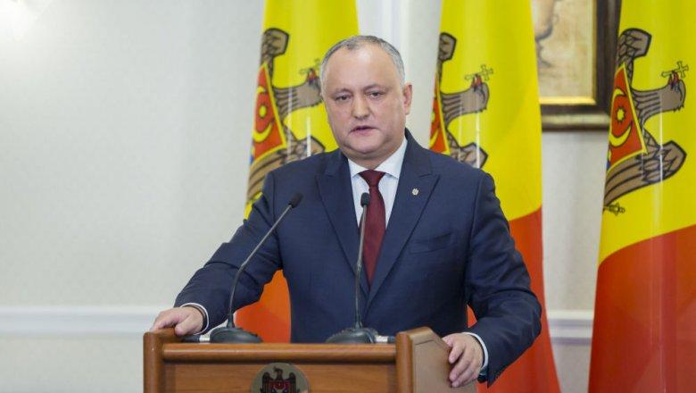 Додон поблагодарил Владимира Путина  за«миграционную амнистию» для молдаван