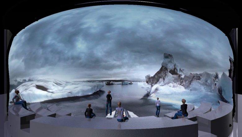 Натерритории парка «Зарядье» появится круговая панорама