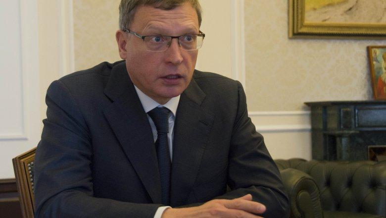 Бурков побеседовал с основным налоговиком Омской области обегстве предпринимателей изрегиона