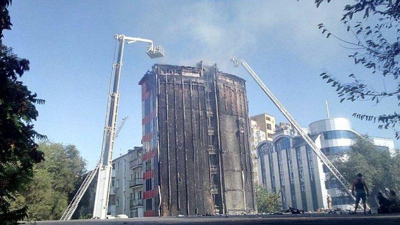 Пожар вРостове-на-Дону охватил 10 гектаров