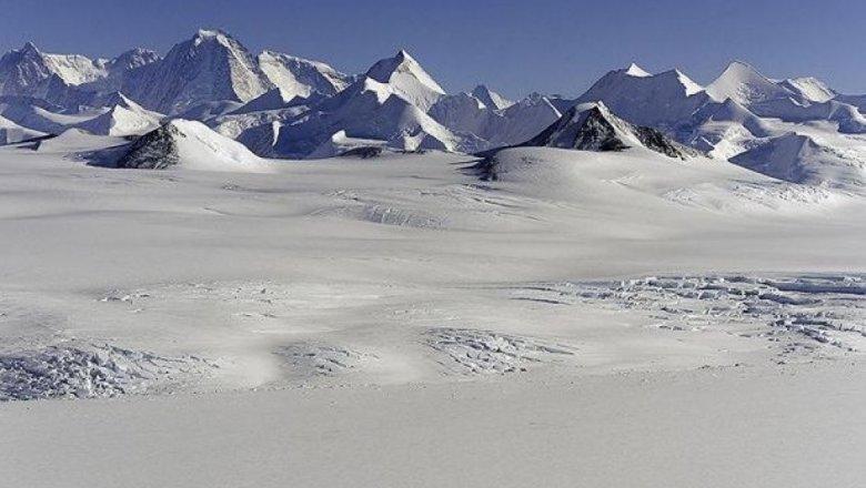 Ученые отыскали вАнтарктиде 91 доэтого неизвестный вулкан