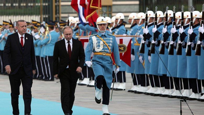 Путин обещает привлекать турецкий бизнес кстроительству АЭС «Аккую»