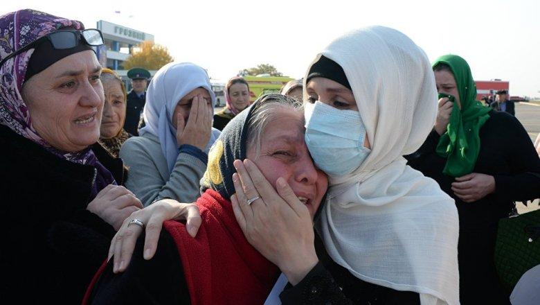 Женщину из Башкирии эвакуировали на родину из Сирии