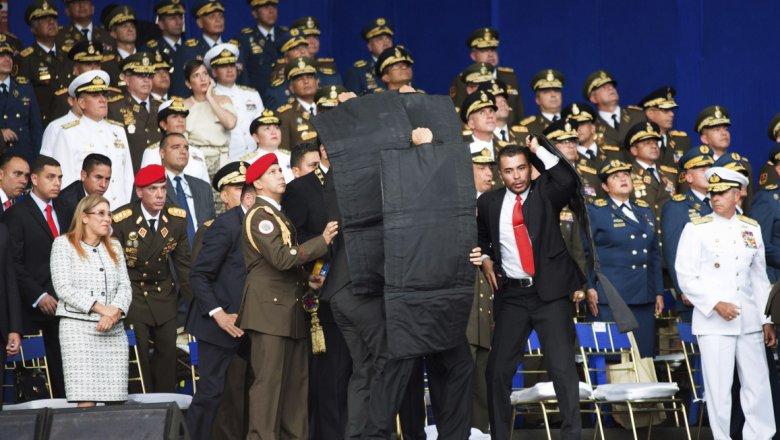 Лидер венесуэльской оппозиции назвал покушение наМадуро фарсом
