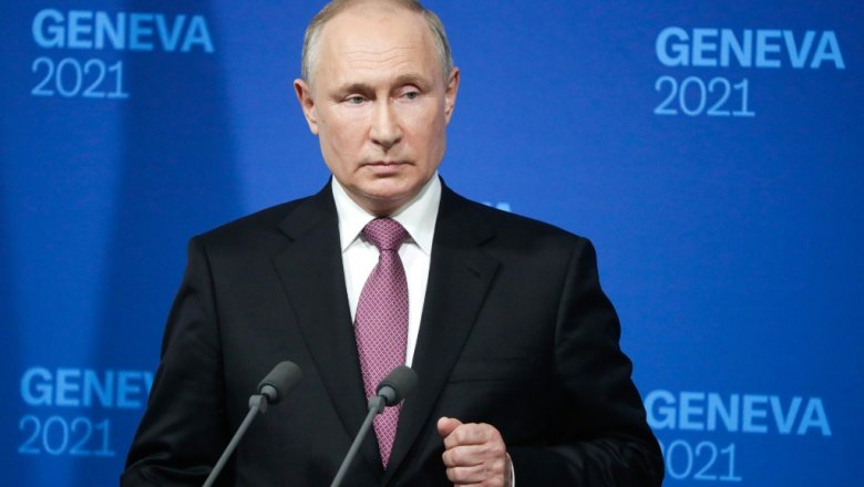 Пресс-конференция Путина после встречи с Байденом. Главное0