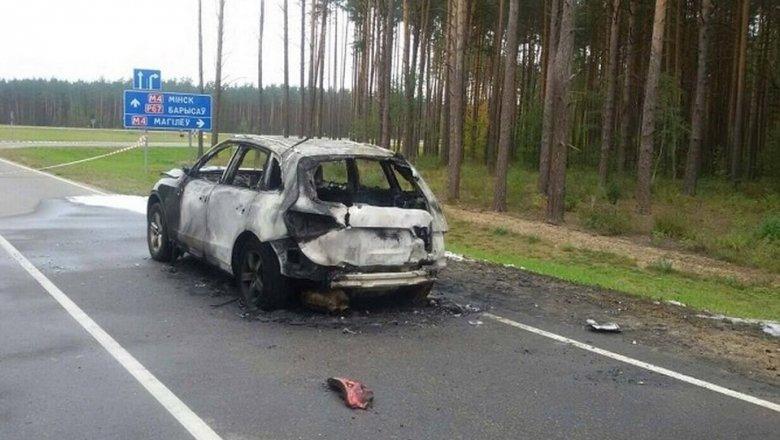 ВБерезино найден труп сгоревшего вавтомобиле мужчины