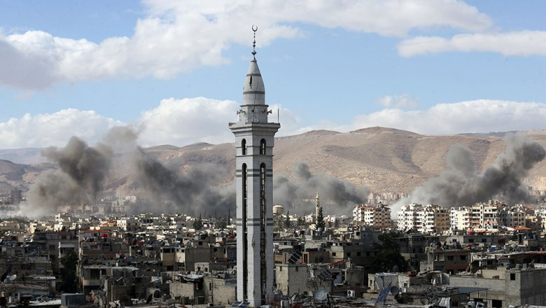 Русские самолеты сближались сэсминцем США уберегов Сирии