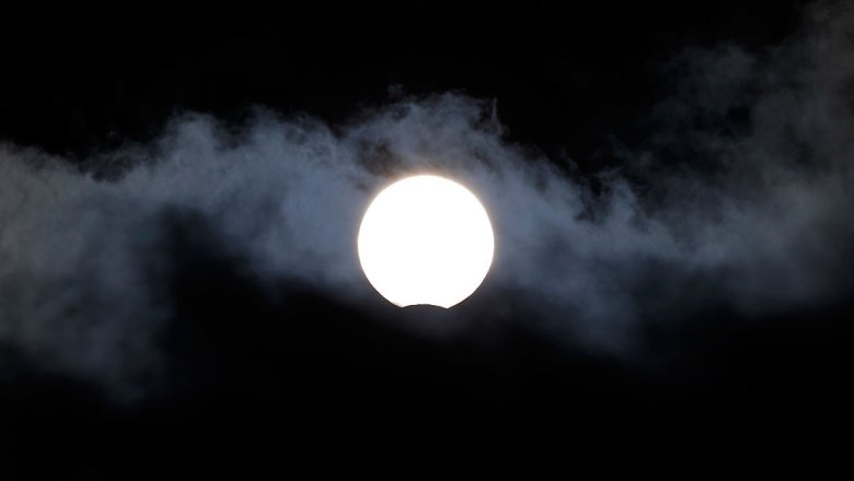 Вокруг Луны найдено пылевое облако— Ученые