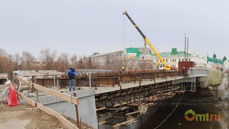 Открытие Юбилейного моста смая перенесли наиюнь