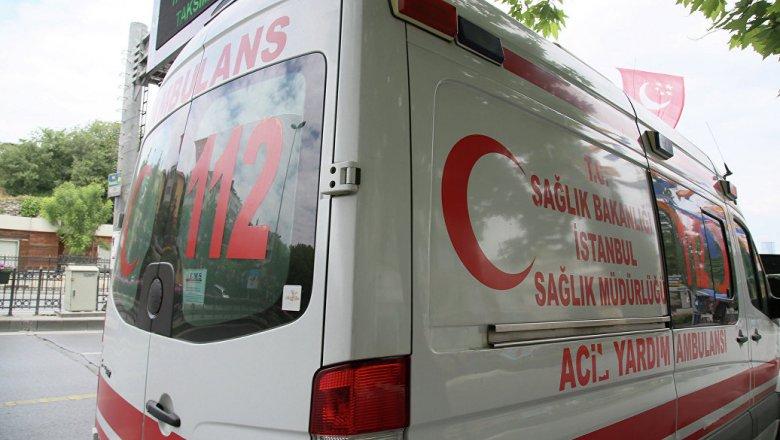 ВТурции при столкновении автобусов пострадали 19 человек