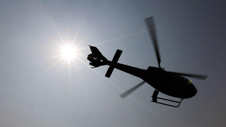 Частный вертолет разбился под Сочи