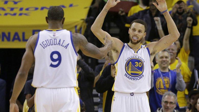«Голден Стейт» вышел вполуфинал плей-офф НБА
