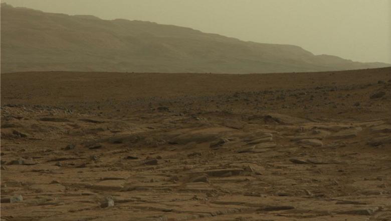 ВNASA показали, как выглядит зима наМарсе