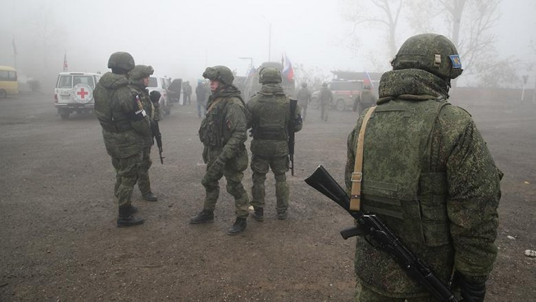 Российским миротворцам в Карабахе дополнительно выплатят по два оклада