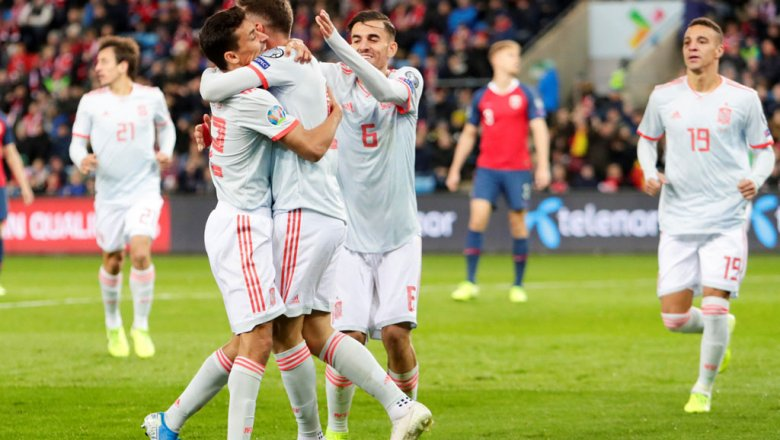 Чемпионат европы по футбола испания