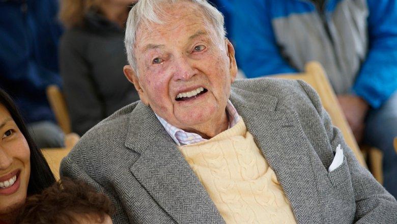 Миллиардер Дэвид Рокфеллер умер в возрасте 101 года