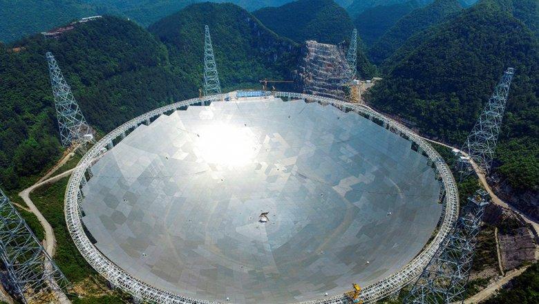 Китай запускает в работу крупнейший радиотелескоп в мире