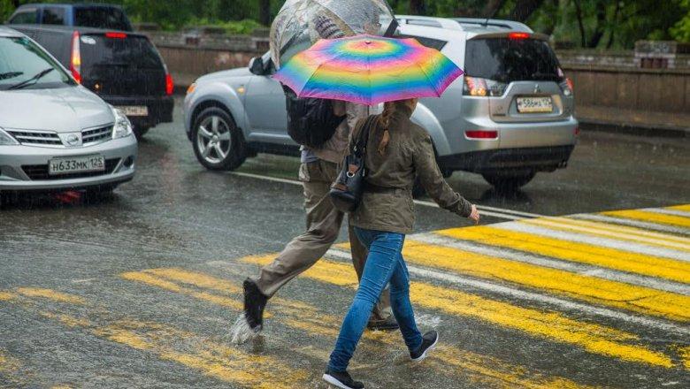 Дождливые пятница и суббота, но солнечное воскресенье ожидает жителей Владивостока