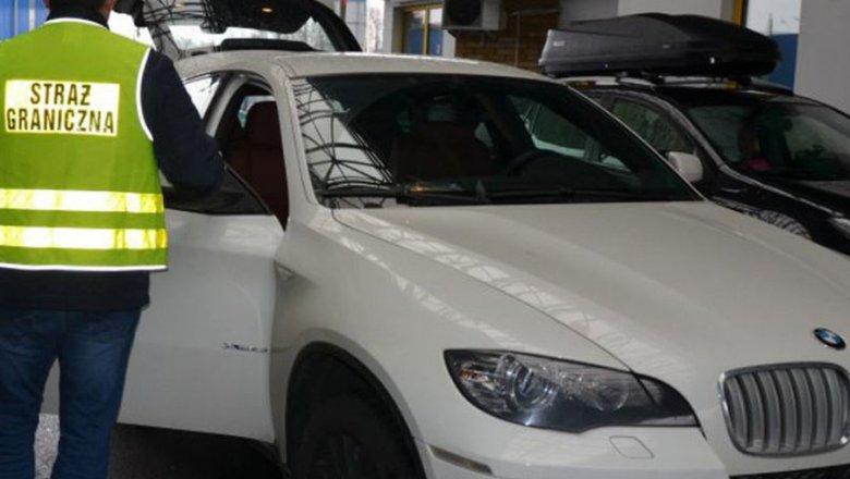 Польские таможенники забрали убелорусов дорогой кроссовер БМВ X6