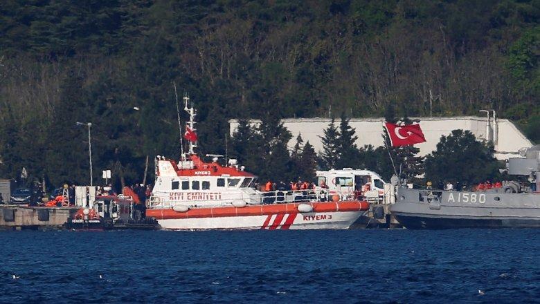 ВЧерном море затонул корабль ВМФ РФ