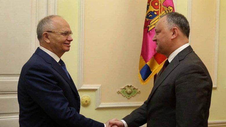 Президент Молдавии объявил оначале акций запрезидентскую форму правления