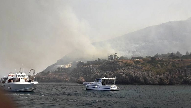 Ростуризм обратился кроссиянам всвязи спожарами наСицилии