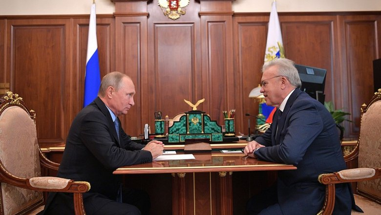 Владимир Путин сократил губернатора Красноярского края