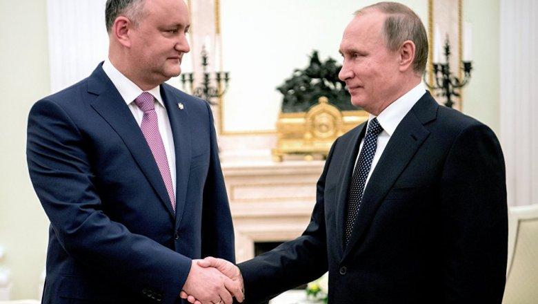 Президент Молдовы сказал, «как господь сделал его президентом»