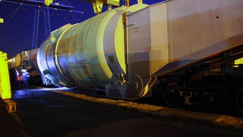 Корпус реактора для 2-го энергоблока доставлен наБелорусскую АЭС