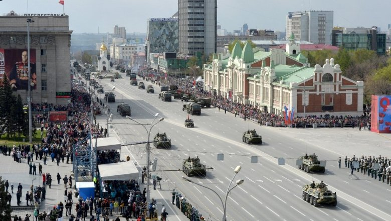 День Победы 9мая 2017 вНовосибирске: программа мероприятий исалют